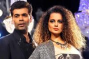 Kangana Ranaut and Karan Johar