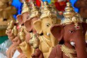 eco-friendly Ganapati Idols
