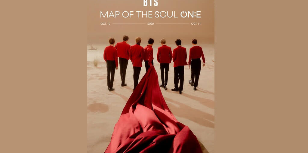 """BTS' Online Concert """"Map Of The Soul On:e"""""""