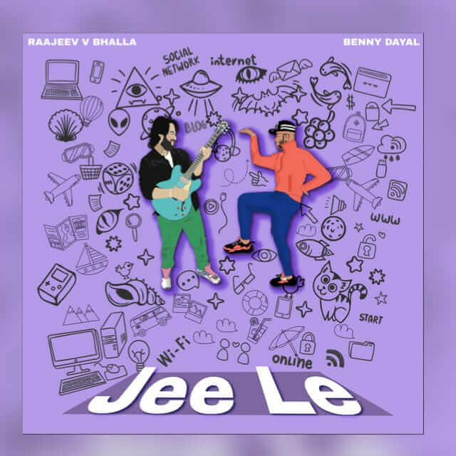 Raajeev V Bhalla and Benny Dayal Song Jee Le Poster