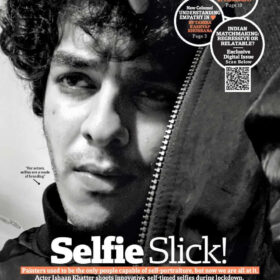 "selfie cover and editorial feature"" starring actor ISHAAN KHATTER (5)"