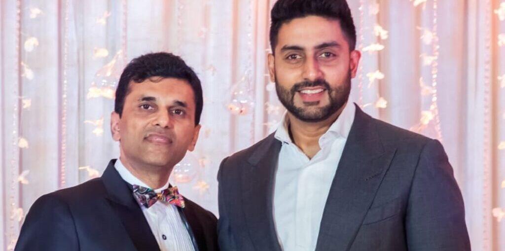 Anand Pandit Abhishek Bachchan for The Big Bull