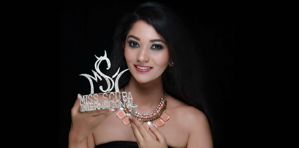 Varsha Rajkhowa MIss Scuba International 2016