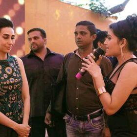 Shalini with Karishma Kapoor