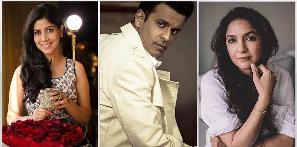 Manoj Bajpayee Neena Gupta and Sakshi Tanwar in DIAL 100