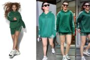 Urvashi Rautela and Beyoncé in the same Athleisure
