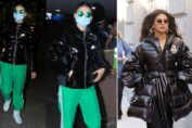 Urvashi Rautela and Priyanka Chopra winter wear