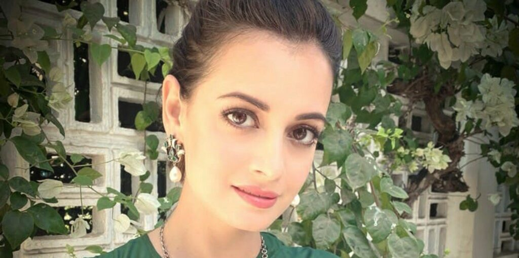 Dia Mirza on tiger day
