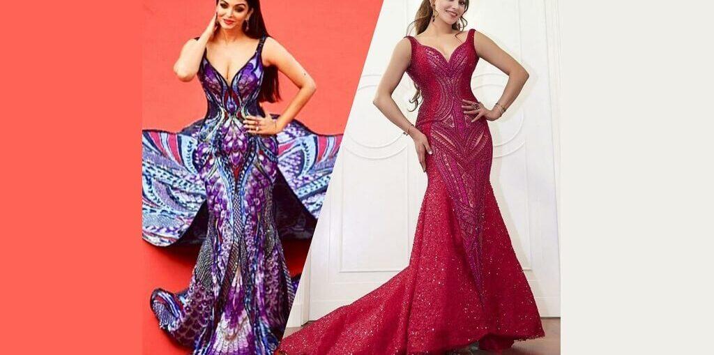 Urvashi Rautela got Aishwarya Rai Bachchan's Designer Dress