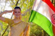 Urvashi Rautela in saree