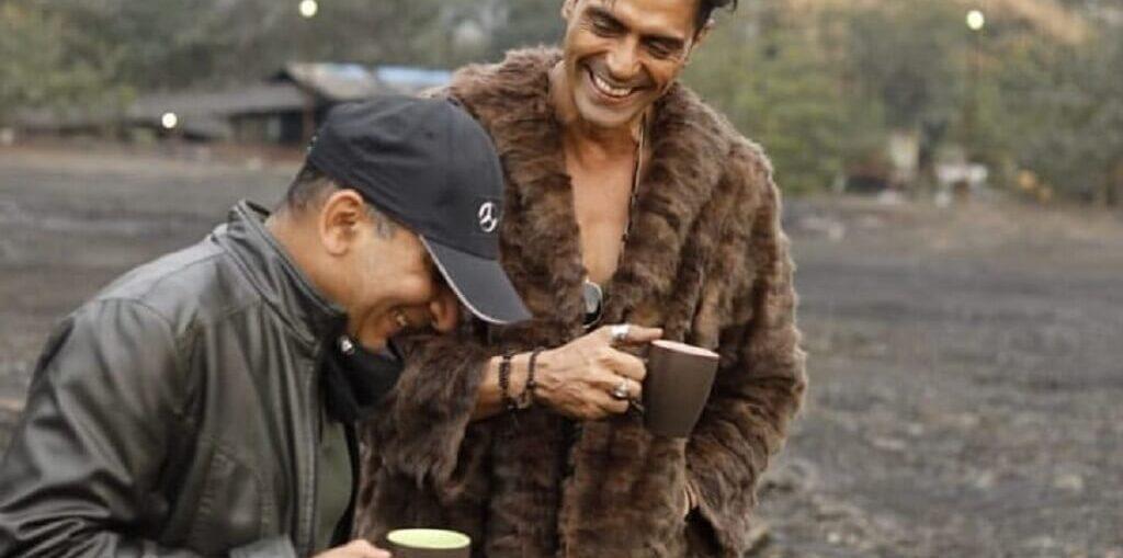 Arjun Rampal wraps up the shoot of Dhaakad