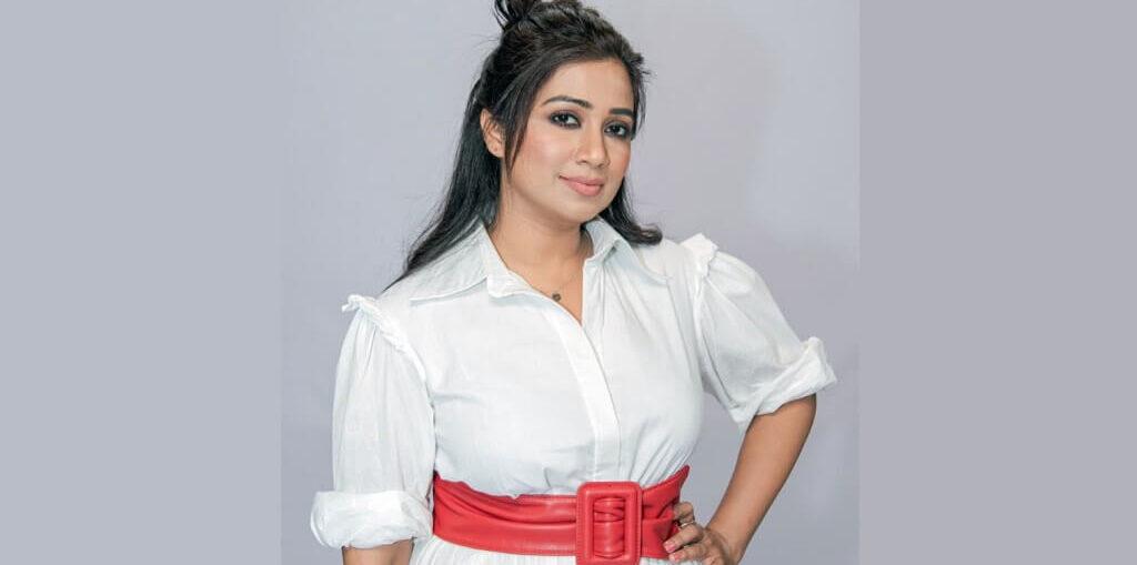 Shreya Ghoshal new single 'Angana Morey'