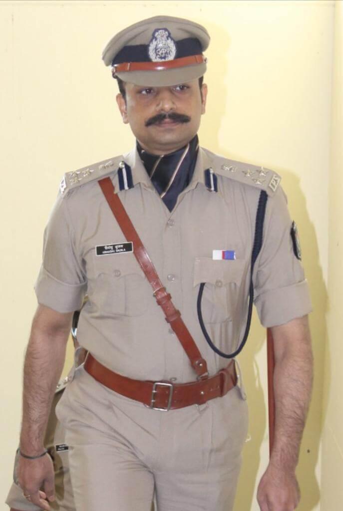 Himanshu Shukla, the DIG of Gujarat's Anti-Terrorism Squad
