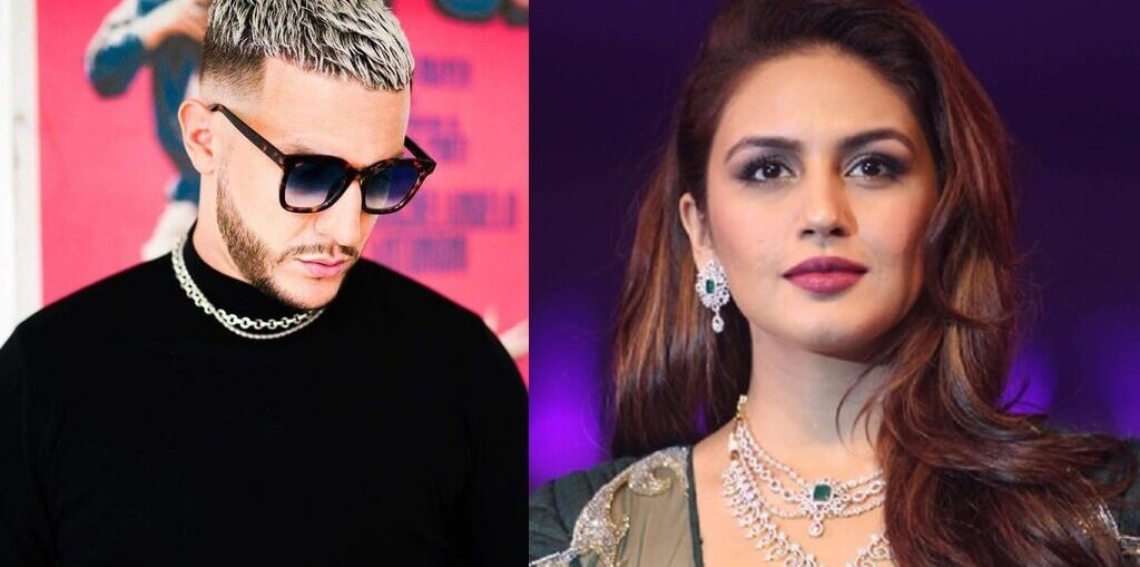 DJ Snake is all hearts for actor Huma Qureshi