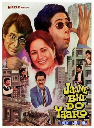 bollywood black comedies - Jaane Bhi Do Yaaro