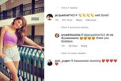 Urvashi Rautela gets congratulated by Jacqueline Fernandez