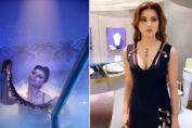 "Urvashi Rautela's look from ""Versace Baby"""