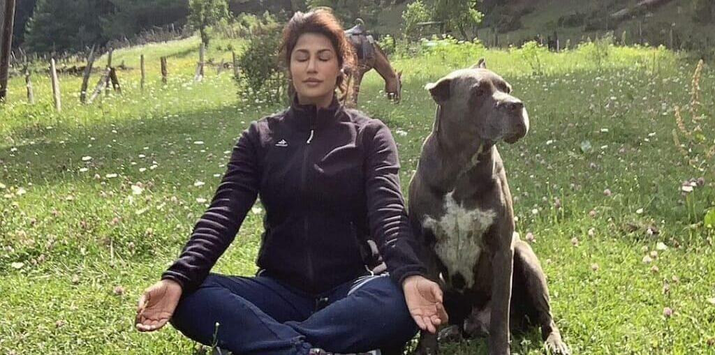 Chitrangda Singh celebrates Yoga Day
