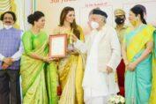 Urvashi Rautela Awarded with 'Stree Shakti National Award'