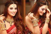 Urvashi Rautela Gujarati traditional Look