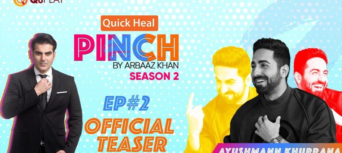 Ayushmann Khurrana in Arbaaz Khan's Pinch Season 2