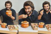 Arjun Kapoor devours Biryani By Kilo