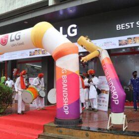 LG launches 38th Brand Shop in Mumbai Thane (3)