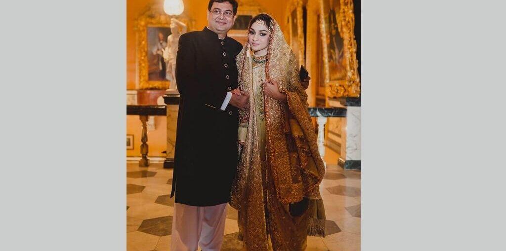 Rumy Jafry's daughter Alfia wedding Dress