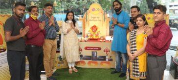 Aaman Trikha & Abhay Pratap Singh graced LG Best Shop