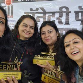 WEE – Women Entrepreneurs Enclave team received awards from Dr. Bharti Lavhekar, MLA Versova Vidhan Sabha (12)